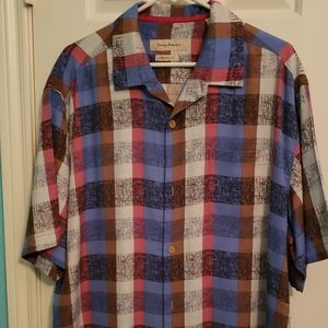 Mens Tommy Bahama button down shirt